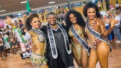 A corte eleita 390x220 - São Leopoldo elege a corte do Carnaval 2019