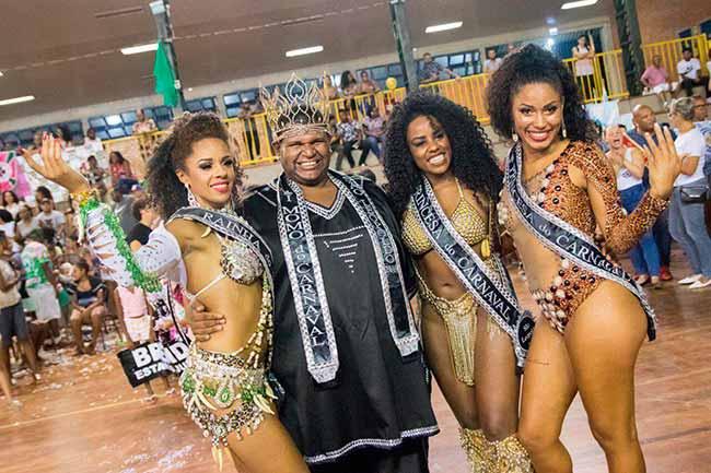 A corte eleita - São Leopoldo elege a corte do Carnaval 2019