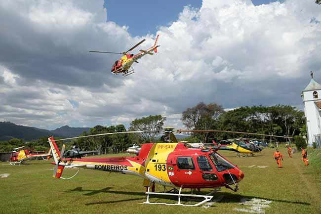 Bombeiros de Minas Gerais - Bombeiros de Minas Gerais lançarão flores no local do desastre