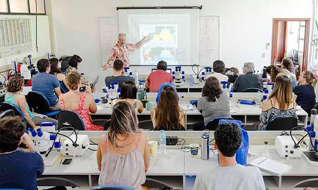 Brazil Summer School on Micropaleontology and Paleoceanography 1 - itt Fossil realiza Brazil Summer School on Micropaleontology and Paleoceanography