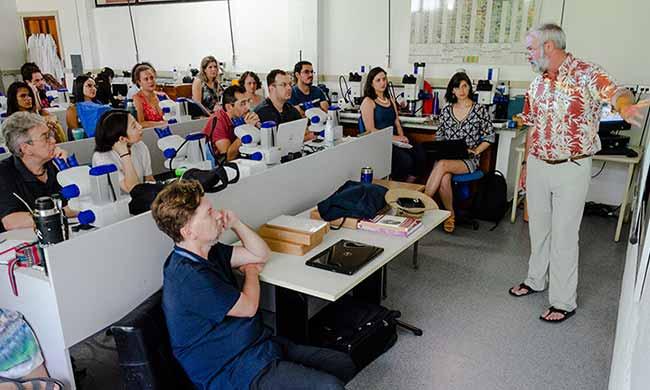 Brazil Summer School on Micropaleontology and Paleoceanography 2 - itt Fossil realiza Brazil Summer School on Micropaleontology and Paleoceanography