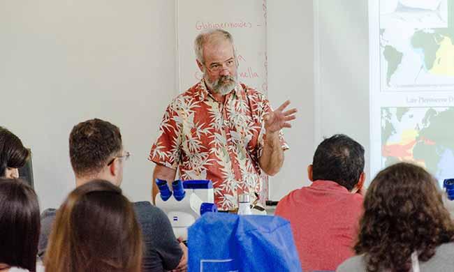 Brazil Summer School on Micropaleontology and Paleoceanography 3 - itt Fossil realiza Brazil Summer School on Micropaleontology and Paleoceanography