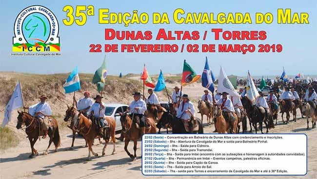 CavalgadadoMar1558 - Cavalgada do Mar estará em Imbé de 26 a 28 de fevereiro