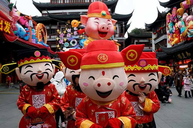 China dá início a celebrações de novo ano porco vai reger o período - Regido pelo porco, tem início celebração do ano novo chinês