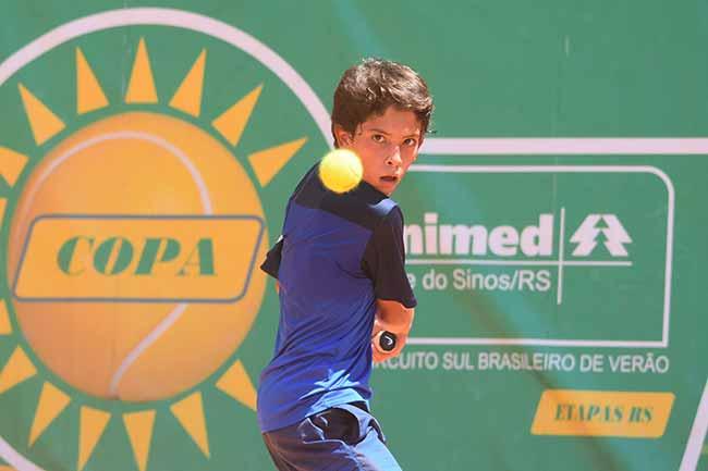 Copa Unimed VS de Tênis tem finais de duplas nesta sexta feira - Copa Unimed VS de Tênis tem finais de duplas nesta sexta-feira