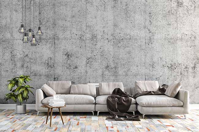 Decoração Industrial I - Decoração Industrial: Telhanorte dá dicas para escolher o piso ideal para compor o ambiente