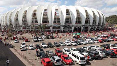 Estacionamento do Beria Rio em Porto Alegre 390x220 - Inter enfrenta hoje (4) o Brasil-Pel no Gigante