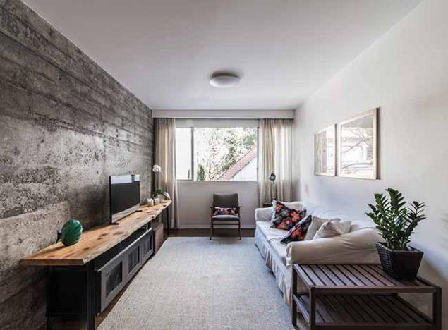 F101 635x468 - Reforma em apartamento confere praticidade e conforto aos ambientes