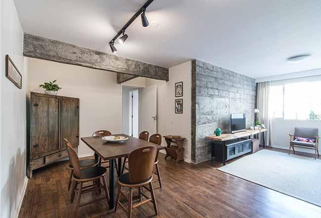 F115 - Reforma em apartamento confere praticidade e conforto aos ambientes