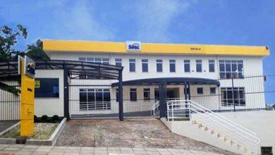 Fachada Escola Sesc Criciúma 390x220 - Sesc/SC inaugura nova Escola em Criciúma e Quadra Comunitária em Forquilhinha