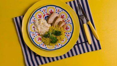 Frango grelhado com creme de milho e arroz com brócolis Bonduelle red 390x220 - Frango grelhado, creme de milho e arroz com brócolis