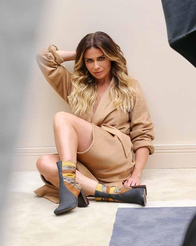 Giovanna Antonelli - Giovanna Antonellié a estrela da campanha de inverno da Corello