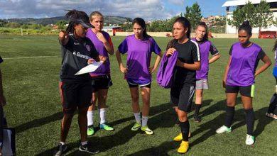Gurias Coloradas realizam avaliações técnicas 390x220 - Futebol Feminino: Gurias Coloradas realizam avaliações técnicas