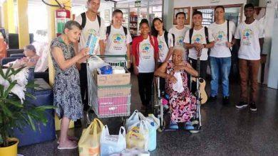 Photo of Idosos do Lar São Vicente fazem a festa com os jovens das oficinas