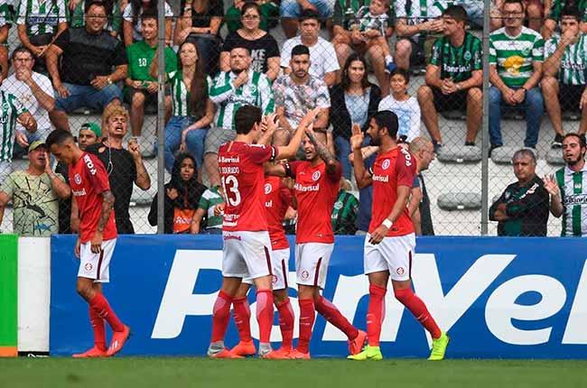 Inter bate Juventude por 2 a 1 em Caxias 1 - Inter bate Juventude por 2 a 1 em Caxias