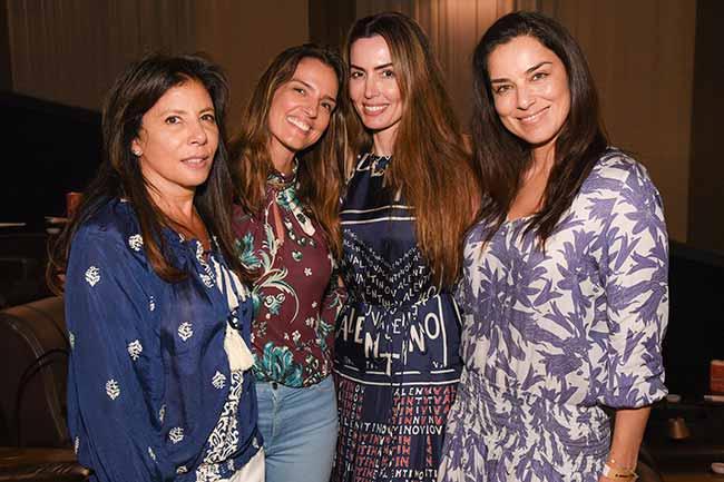 Marcia Cruz May Cividanes Iara Jereissati e Luciana Cardoso 0121 - Pré-estreia do filmeSai de Baixo reuniu famosos em SP