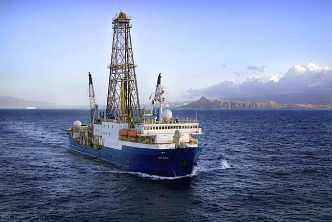 Navio Joides Resolution - Expedição na costa brasileira contará com pesquisador da Unisinos