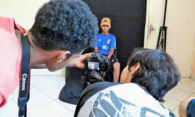 Oficina de Audiovisual - Oficina de Audiovisual conta narrativas da juventude no Santo Afonso