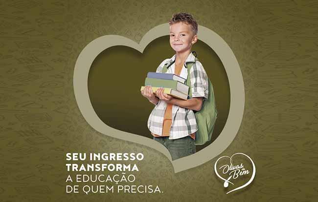 Olivas de Gramado 1 - Gramado: projeto social doa ingressos em troca de material escolar