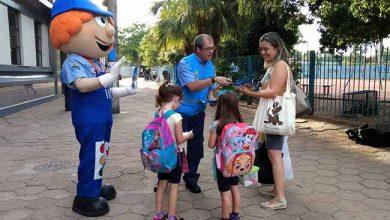 Operação contará com o Azulito personagem da EPTC 390x220 - Operação Volta às Aulas em Porto Alegre
