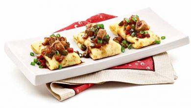 Panquequinhas Chinesas2 390x220 - Panquequinhas chinesas com frango