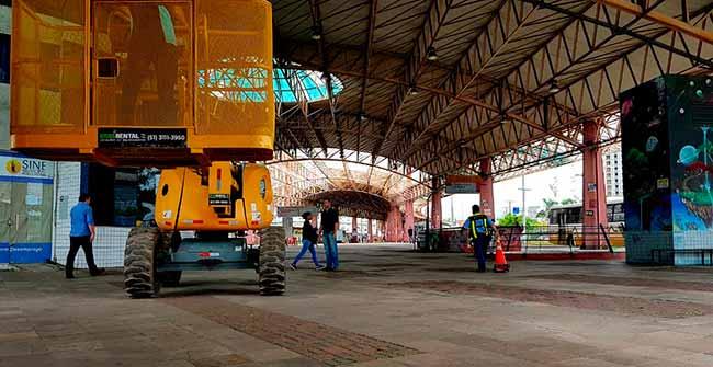 Prefeitura recebe laudo técnico do Terminal Triângulo - Prefeitura de Porto Alegre recebe laudo técnico do Terminal Triângulo