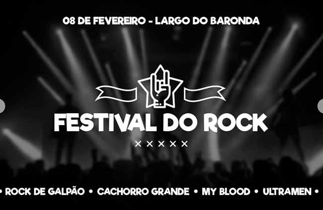Sem Título 1 - Festival do Rock acontece hoje em Capão da Canoa