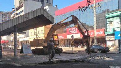 Trabalhos começaram na manhã desta quinta feira em Novo Hamburgo 390x220 - Placas de concreto do Paradão de Novo Hamburgo têm troca iniciada