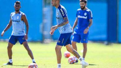 Treino intenso do Grêmio 2 390x220 - Grêmio fez treino técnico intenso