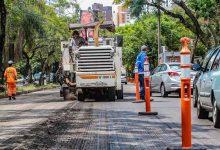 asfalto na avenida Nilo Peçanha 220x150 - Avenida Nilo Peçanha é liberada após requalificação asfáltica