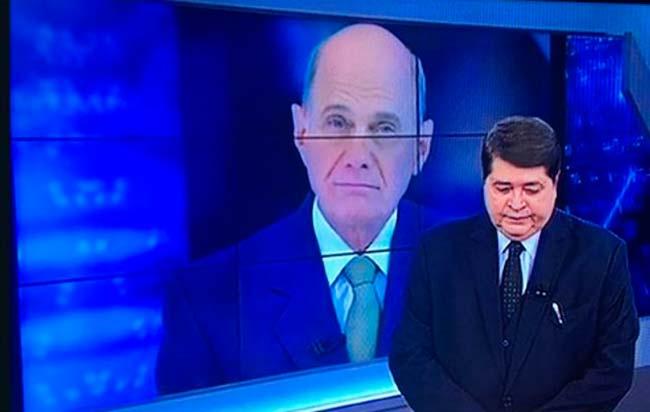 boechat datena - General Heleno representará Bolsonaro no enterro de Ricardo Boechat