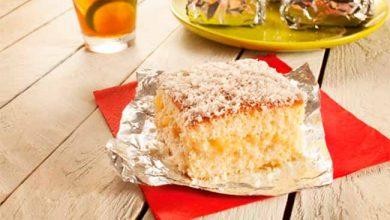 bolo gelado abacaxi 390x220 - Bolo gelado de abacaxi