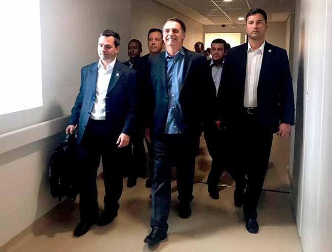 bolsonaro deixa hospital - Bolsonaro já está em Brasília