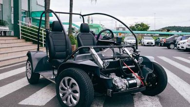 carro elétrico da UniAvan 3 390x220 - Alunos da UniAvan iniciam projeto de carro elétrico em Santa Catarina