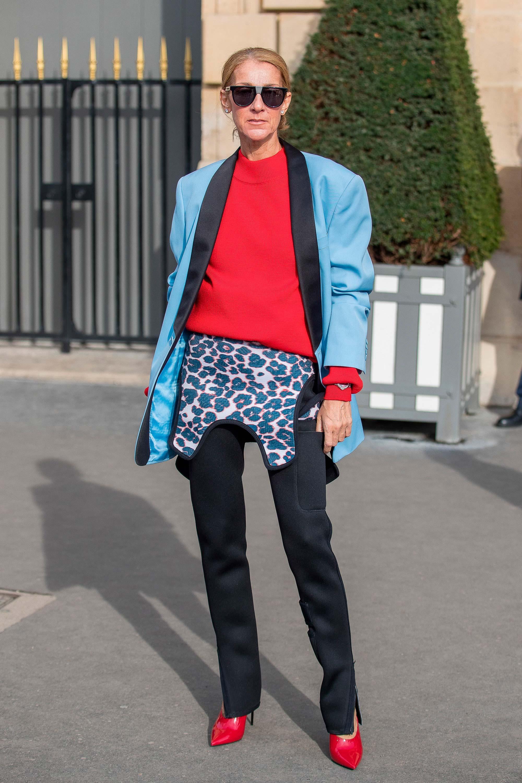 4bb3d3c5d97 Celine Dion usa óculos de sol Calvin Klein – Revista News