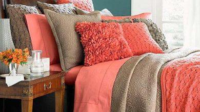 coral 390x220 - O tom de coral vivo na decoração