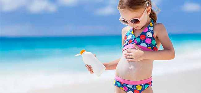 crisolr - Proteção solar na infância diminui risco de câncer de pele no adulto