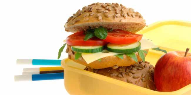 escol - Dicas nutricionais de lanches saudáveis para a criançada