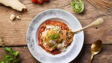espaguetes com molho ao sugo 390x220 - Duo de espaguetes com molho ao sugo
