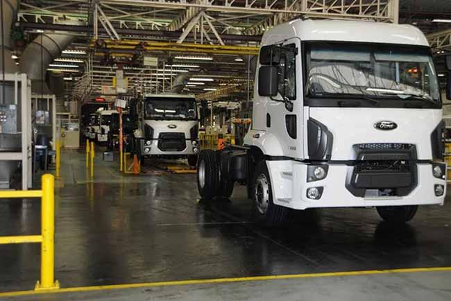 ford caminhões - Ford vai fechar a fábrica de São Bernardo do Campo