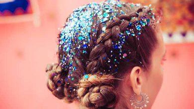 glitter cabelo 390x220 - Cuidados com os cabelos no Carnaval
