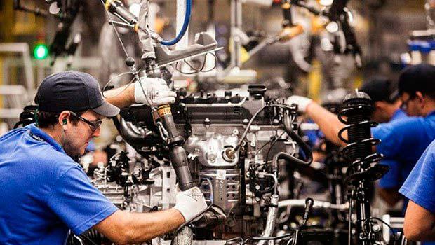 indust - Produção industrial recuou 0,2% de abril para maio