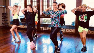 ivete coreo 390x220 - Ivete Sangalo e Claúdia Leitte juntas na coreografia da música Lambada