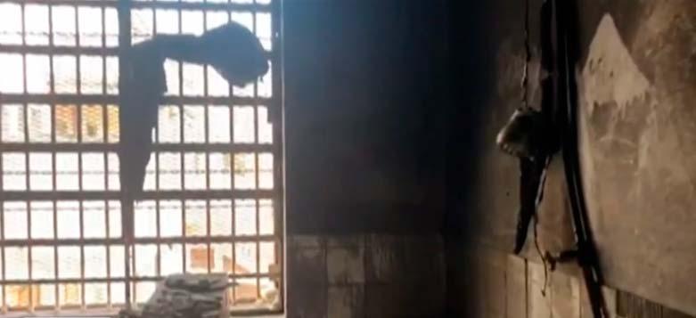 madre pelitier - Incêndio no Presídio Madre Pelletier fere detentas em Porto Alegre