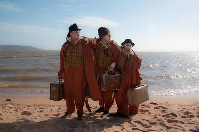 palhaços - Velha glória circense em cartaz no Teatro Renascença