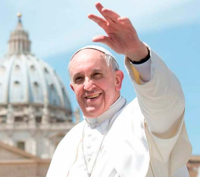 papa francisco1 - Papa Francisco defende condenação de qualquer forma de violência