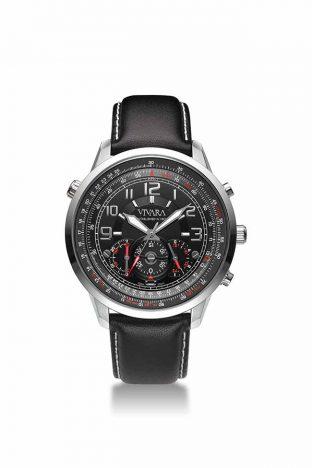 rel vivara preto 312x468 - Vivara lança relógio masculino Aviator III