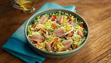 salada de acelga com fil' de sartdinha v2 390x220 - Salada de acelga com sardinha limão