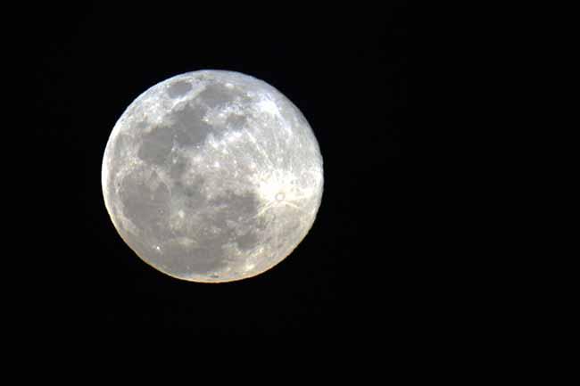 superlua 3 - Maior superlua do ano ocorre hoje à noite