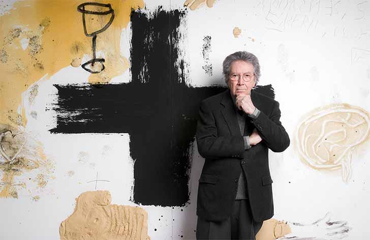 Antoni Tàpies - Antoni Tàpies tem obras expostas em galeria de São Paulo